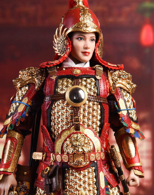 [FET-002] 1/6 China's Female General Action Figure by Feng Toys