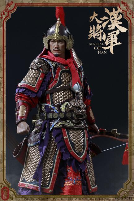 [KLG-R018A] 1/6 General of Han Regular Version by KongLingGe