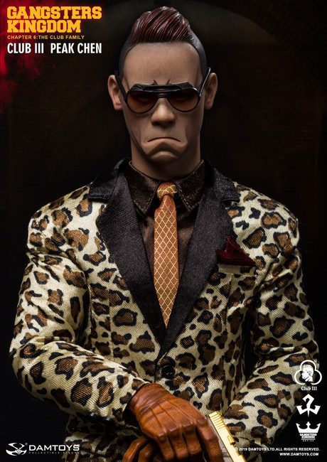 [DAM-GK018] 1:6 Club 3 Peak Chen Figure in Gangsters Kingdom by DAM TOYS