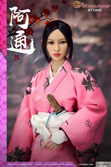 [WK-89018A] 1:6 Atone 阿通 Japanese Female Figure by Wolf King