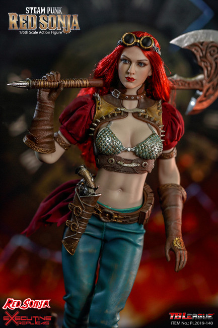 [PL2019-140-B] 1/6 Steam Punk Red Sonja Deluxe Version Boxed Figure by TBLeague Phicen