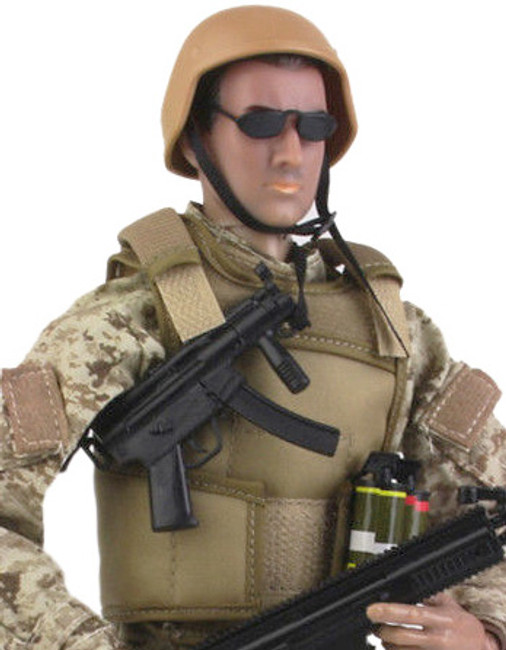[KH-NB01A] 1/6 Special Forces Figure with ACU Uniform in Tan by KAD Hobby