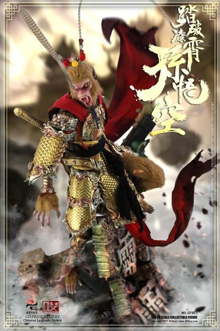 [303T-GF003] Sun Wukong CLOUD PALACE BREAKER 1/6 Figure by 303 Toys