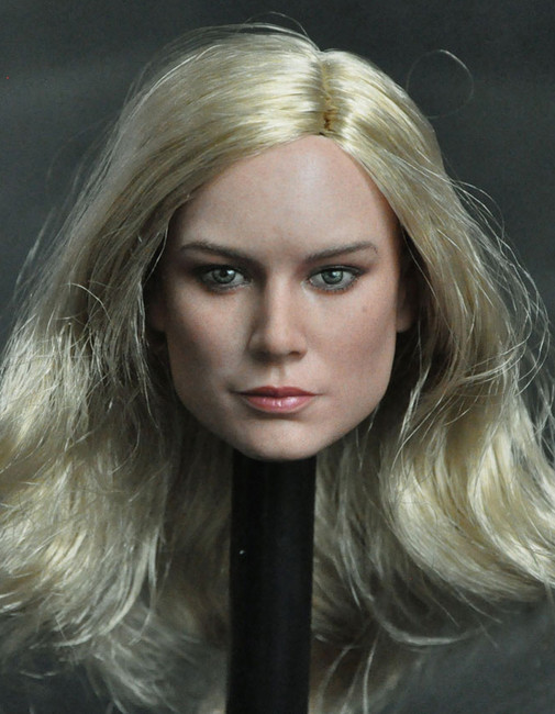 [MAN-M02B] 1/6 Custom Actress Heads Long Hair by Manco Toys