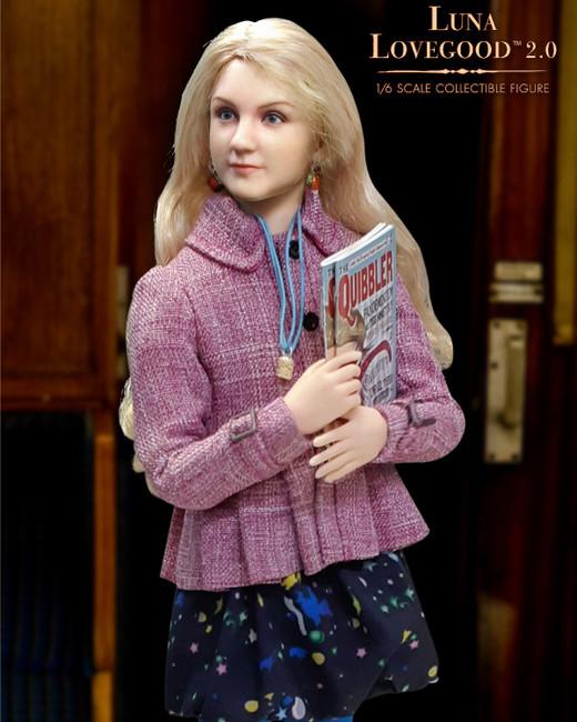 "[SA-0062S] 1:6 Luna Lovegood ""Looney"" Casual Wear Figure in Harry Potter by Star ACE"