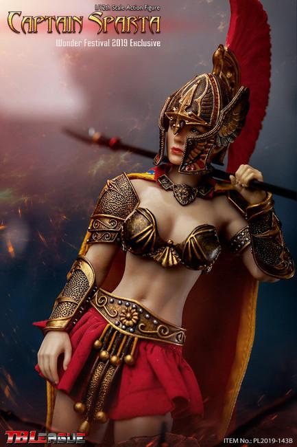 [PL2019-143B] Captain Sparta Wonder Festival 2019 Exclusive 1/12th Figure by TBLeague Phicen