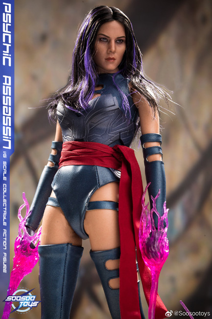 [SST-009] Psychic Assassin Limited 1/6 Collectible Figure by SooSoo Toys