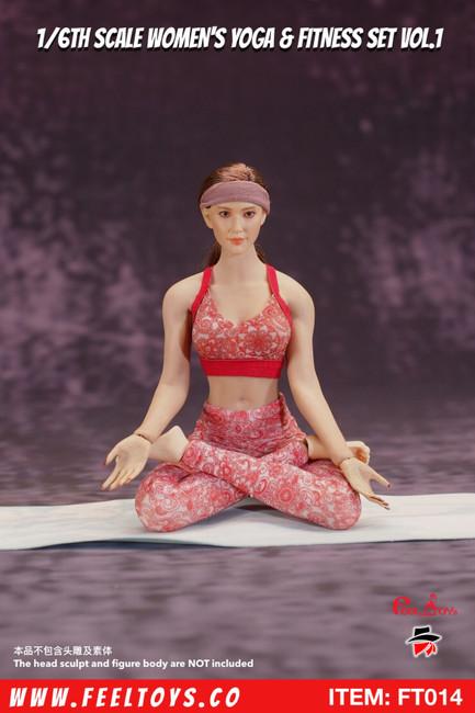 [FT-014] 1/6 Women's Yoga & Fitness Set Vol.1 by Feel Toys