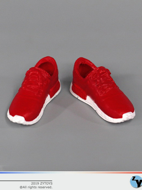[ZY-1017C] 1/6 Female Red Running Sneakers by ZY TOYS