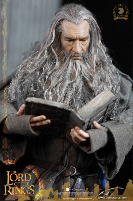 [ASM-CRW001] The Crown Series Gandalf the Grey 1/6 Boxed Figure by Asmus Toys