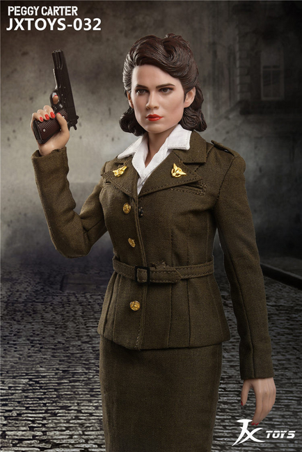 [JXT-032] 1/6 US Army Air Force Female Officer Peggy by JXtoys