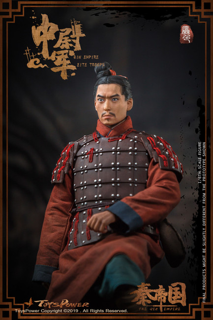 [TP-CT012A] Elite Troops of Qin Empire Terra-cotta Warriors Primary Color Version by Toys Power