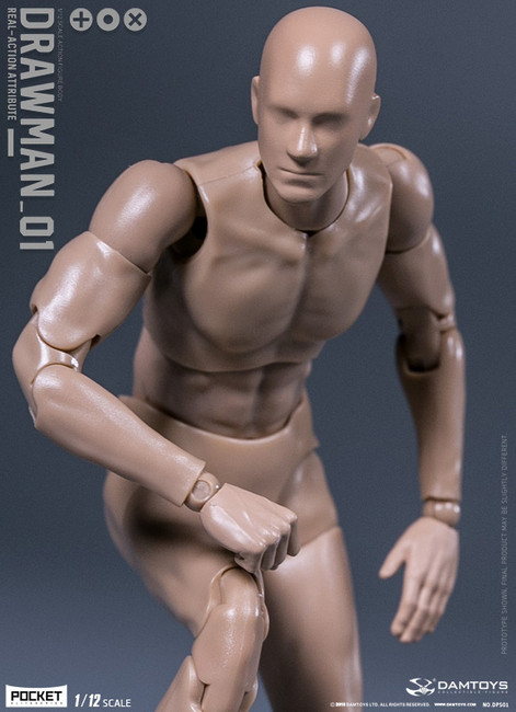 [DAM-DPS01] 1/12 Drawman Action Figure by Dam Toys