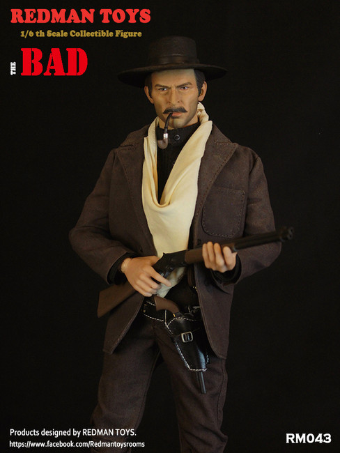 [RMT-043] Cowboy The Bad 1/6 Figure by Redman