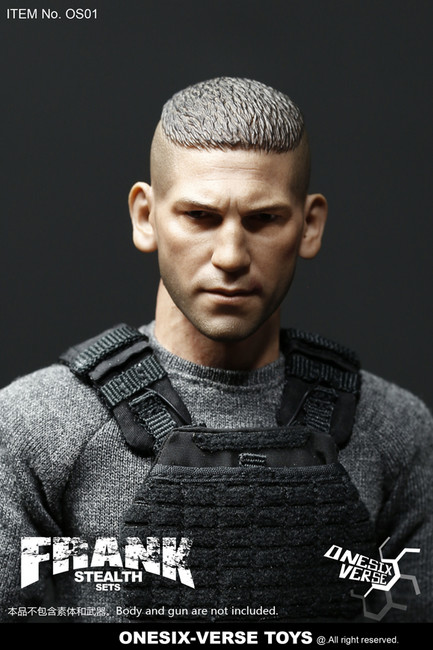 [OSV-001] 1/6 Frank Stealth Clothing & Head Sets by ONESIX-VERSE TOYS