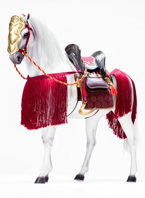 [POP-EX024C] 1/6 Genpei Heroine Tomoe Gozen War Horse by POPTOYS