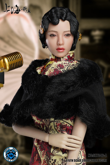 [SUD-SET046A] 1/6 Shanghai Sing-song Girl in Red Cheongsam by Super Duck for Phicen S09C Body