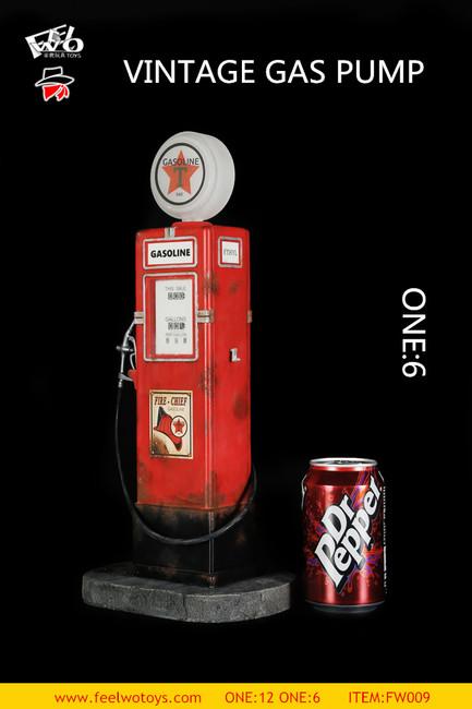 [FW-009-6] 1/6 Vintage Gas Pump by FEELWOTOYS
