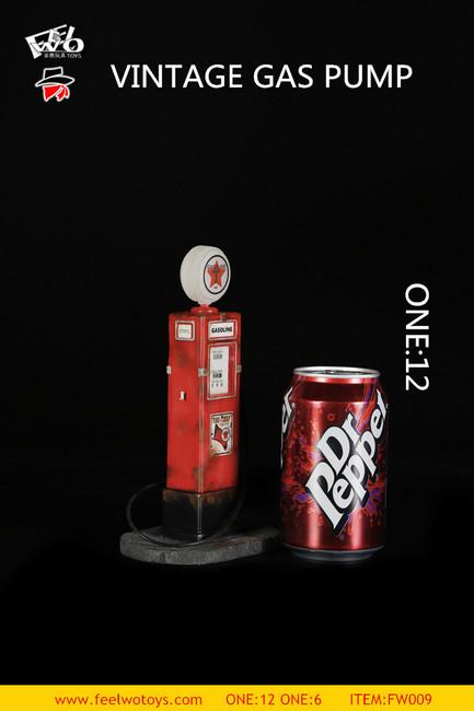 [FW-009-12] 1/12 Vintage Gas Pump by FEELWOTOYS