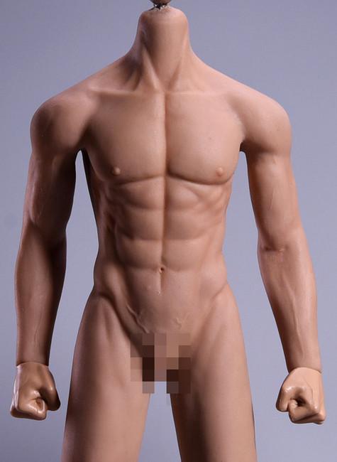 [JOK-11C-BS] Normal Male Body Suntan Skin with Detachable Foot by Jiaou Doll
