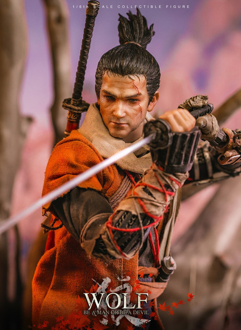[VM-030DX] The Wolf of Ashina Deluxe Edition 1/6 Boxed Action Figure by Virtual VTS Toys