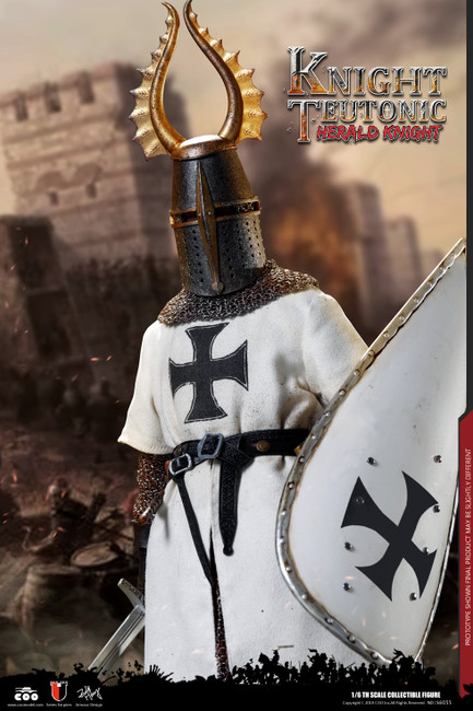 [CM-SE055] HERALD OF KNIGHTS TEUTONIC 1:6 Figure by COO Model