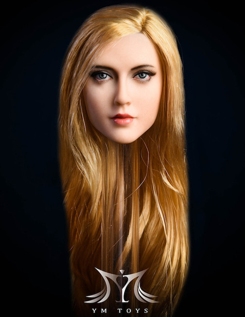 [YMT-026C] 1/6 Anna Blue Eyes and Blond Hair Head by YM Toys