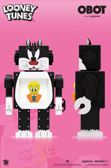 """[ZC-329] 6"""" Tall OBOT Looney Tunes by ZC World"""