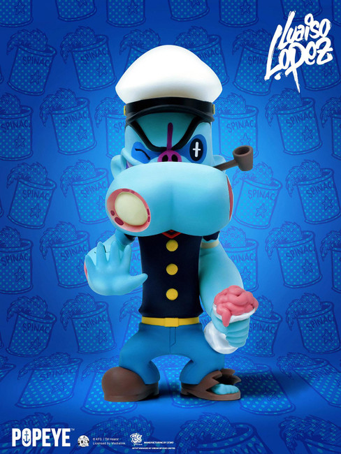 [ZC-332] 24cm Tall Popeye™ x Luaiso Lopez by ZC World