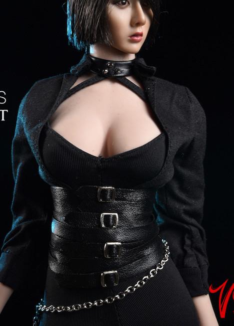 [VST-18XG50B] 1/6 Black Shirt & Tight Pants for TBLeague by VS Toys