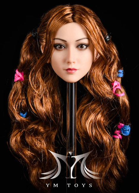 [YMT-027b] 1/6 Jasmine Action Figure Head by YM Toys