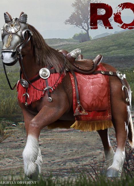 [HY-HH18007] HH model X HaoYu Toys 1:6 Imperial General Horse