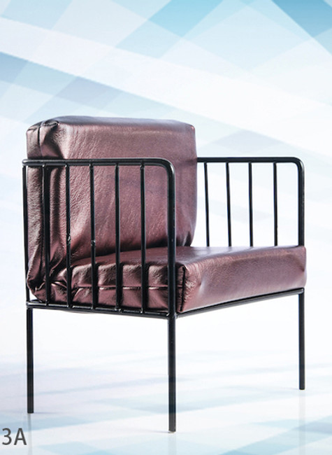 [VST-19XG53A] 1/6 Arm Chair in Bronze Color by VS Toys