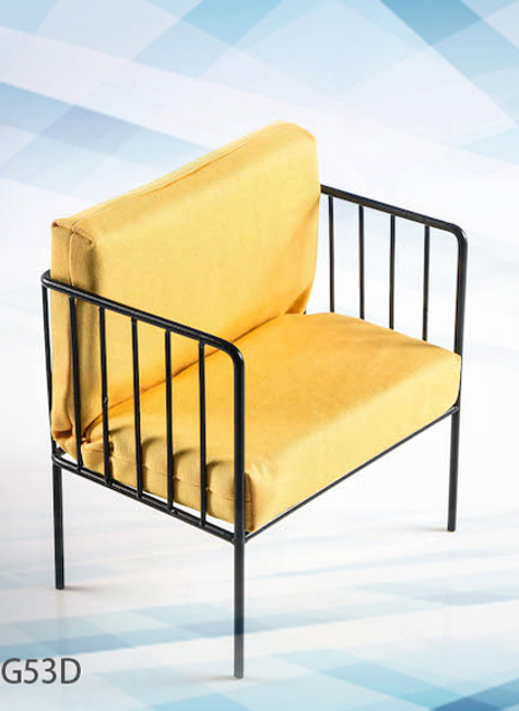 [VST-19XG53D] 1/6 Arm Chair in Yellow Color by VS Toys