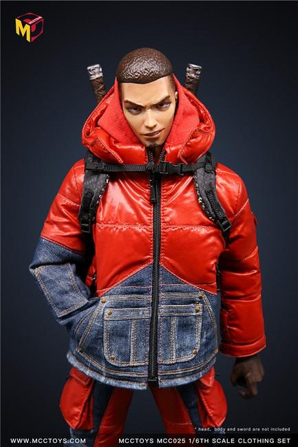 [MCC-025] 1/6 Fashion Down Jacket Accessories by MCC TOYS