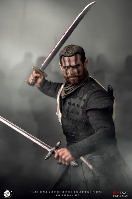 [POP-EX028] 1/6 Macbeth Action Figure with Two Heads by POPTOYS