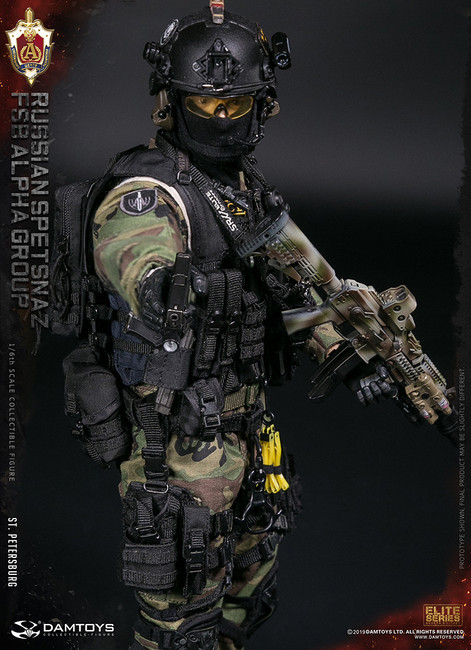 [DAM-78071] 1/6 Russian Spetsnaz FSB Alpha Group St.Petersburg Figure by DAM Toys