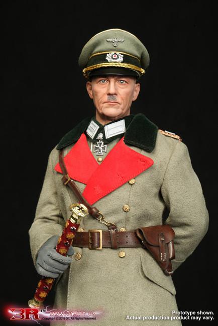 [3R-GM643] 1/6 WW2 German Wehrmacht Marschall Karl Rudolf Gerd Von Rundstedt Figure by 3R DiD