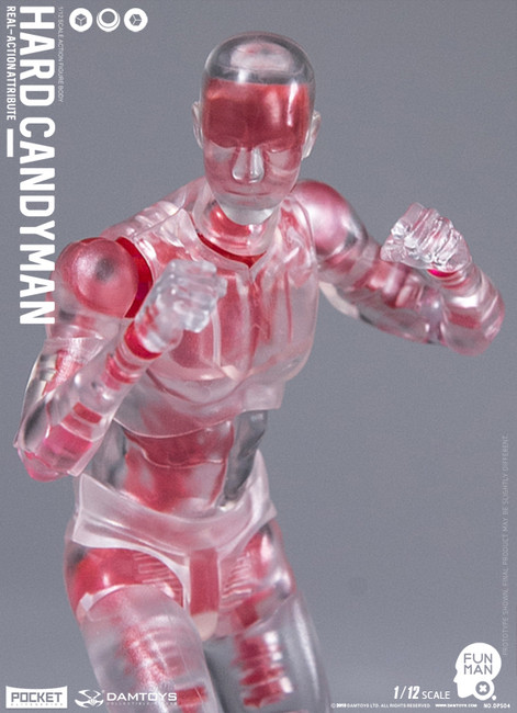 [DAM-DPS04] 1/12 Funman Hard Candyman Action Figure by Dam Toys