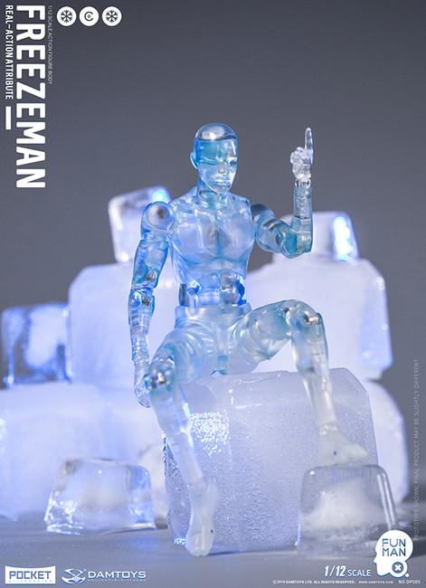 [DAM-DPS05] 1/12 Funman Freezeman Action Figure by Dam Toys