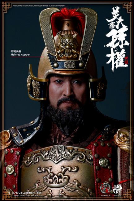 [303T-MP005] SUN QUAN ZHONGMOU, EMPERER OF WU STANDARD VERSION by 303 Toys