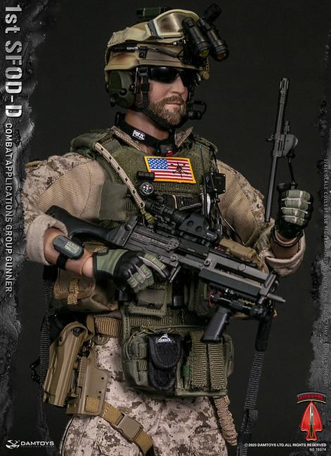 [DAM-78074] 1/6 1st SFOD-D Combat Applications Group Gunner by DAM Toys