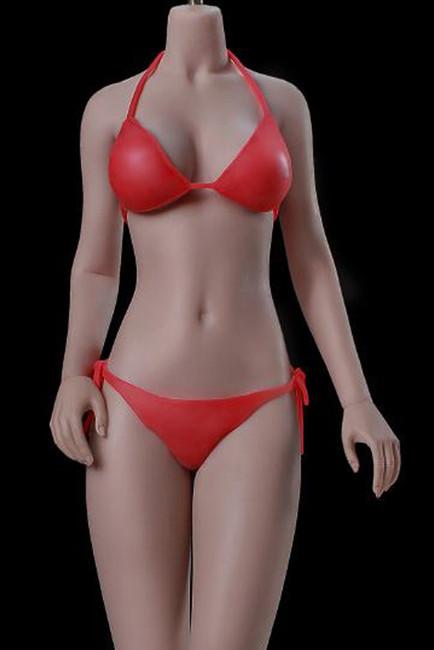 [PLMB2019-S35A] 1:6 Girl Super-Flexible Seamless Medium Breast Suntan Body by TBLeague Phicen