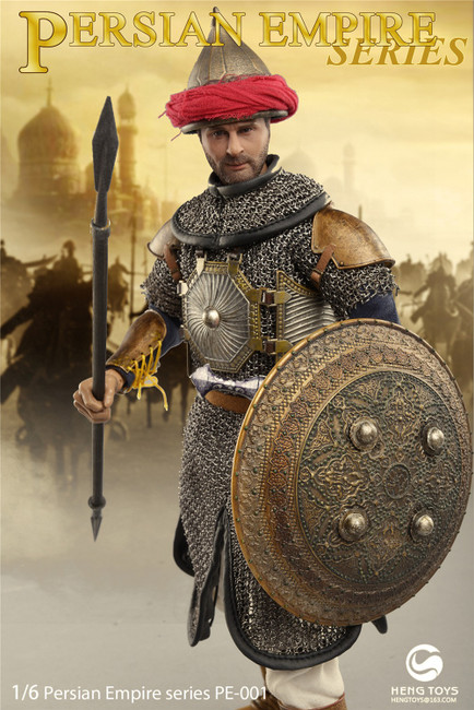 [HGT-PE001] Elephant Soldier in Persian Empire Series by Heng Toys