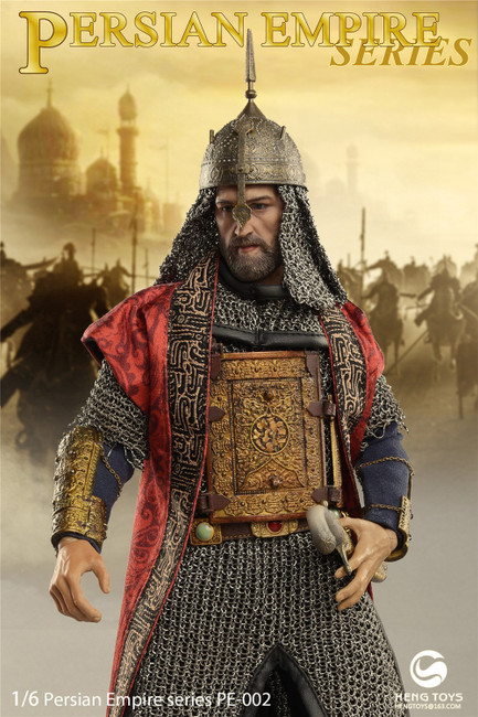 [HGT-PE002] Elephant Soldier Bowman in Persian Empire Series by Heng Toys
