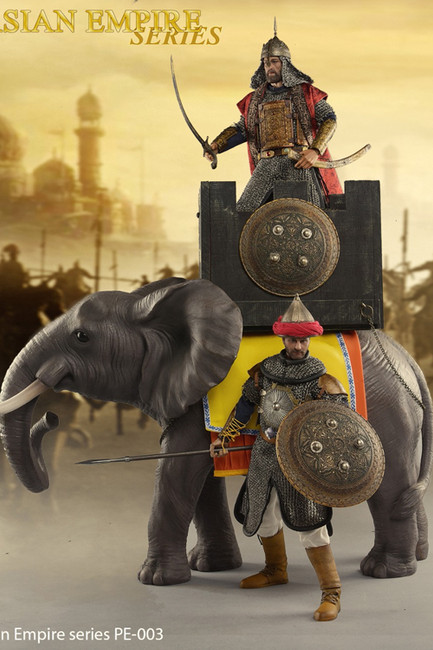 [HGT-PE003] War Elephant in Persian Empire Series by Heng Toys