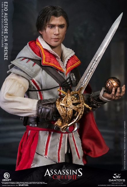 [DMS012] 1/6 Assassin's Creed II Ezio Figure by Dam Toys