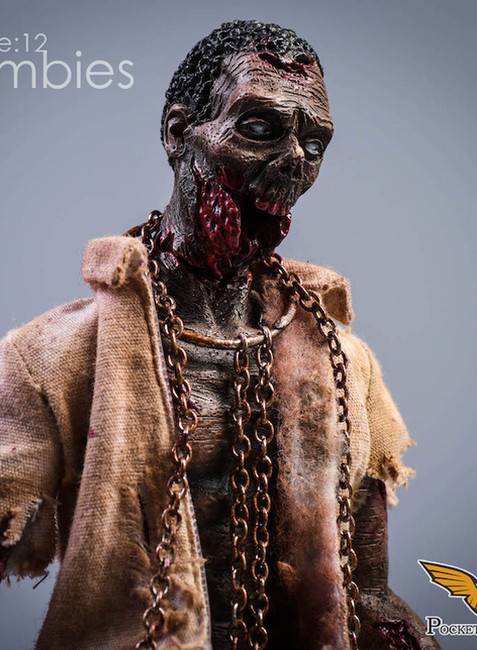 [PW-2012A] 1/12 Zombies Version A Action Figure by Pocket World