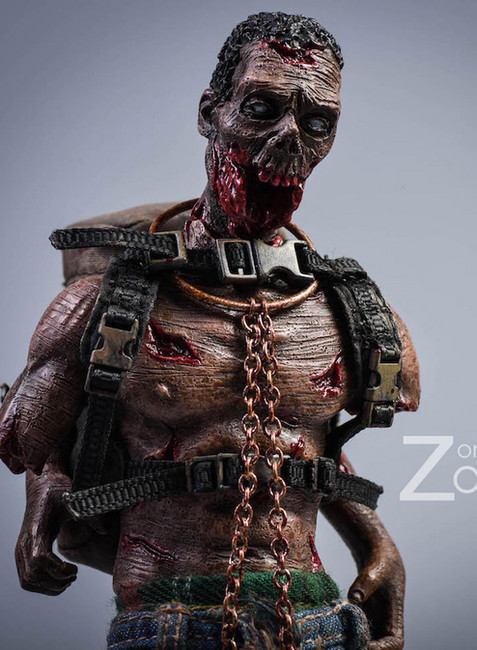 [PW-2012D] 1/12 Zombies Version D Action Figure by Pocket World