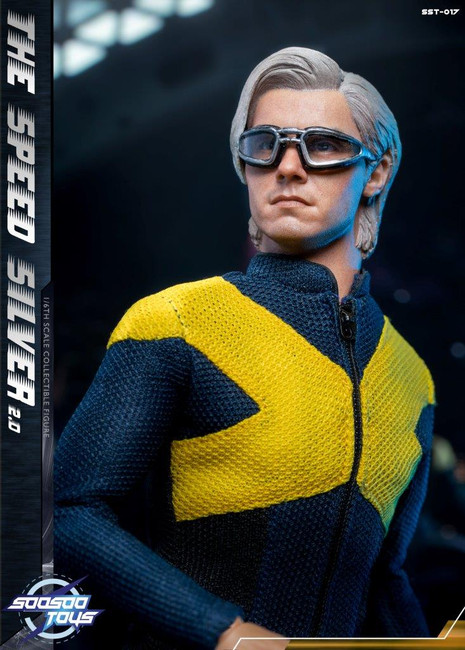 [SST-017] The Speedsilver 2.0 1/6 Collectible Figure by SooSoo Toys